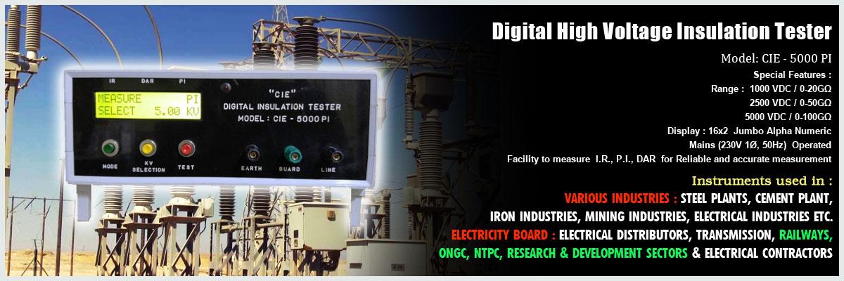 Insulation Tester Manufacturer In Kolkata | Digital Clamp